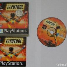 Videojuegos y Consolas: JUEGO PSX ESTO ES FUTBOL. Lote 219296672
