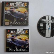 Videojuegos y Consolas: JUEGO PSX TEST DRIVE 5. Lote 219297230
