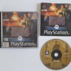 Videojuegos y Consolas: JUEGO PSX MEDAL OF HONOR UNDERGROUND. Lote 219298060