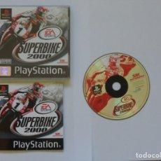 Videojuegos y Consolas: JUEGO PSX SUPERBIKE 2000. Lote 219302367