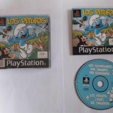 Videojuegos y Consolas: JUEGO PSX LOS PITUFOS. Lote 219310061