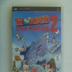 Videojuegos y Consolas: JUEGO DE PSP : WORMS , OPEN WARARE 2 . DE SONY. Lote 220633802