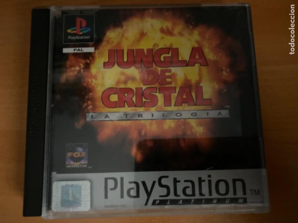 JUEGO PS1 JUNGLA DE CRISTAL LA TRILOGÍA COMPLETO (Juguetes - Videojuegos y Consolas - Sony - PS1)