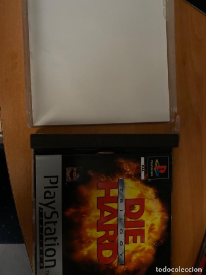 Videojuegos y Consolas: JUEGO PS1 JUNGLA DE CRISTAL LA TRILOGÍA COMPLETO - Foto 2 - 220636981