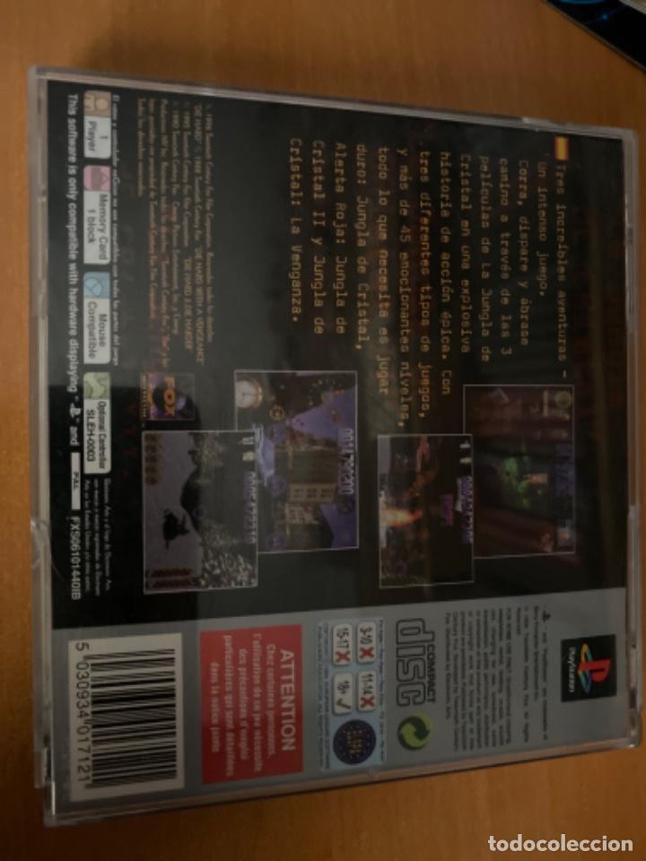 Videojuegos y Consolas: JUEGO PS1 JUNGLA DE CRISTAL LA TRILOGÍA COMPLETO - Foto 4 - 220636981