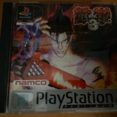 Jeux Vidéo et Consoles: JUEGO PS1 TEKKEN 3 COMPLETO. Lote 220637973