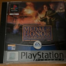 Jeux Vidéo et Consoles: JUEGO PS1 MEDAL OF HONOR UNDERGROUND COMPLETO. Lote 220638101