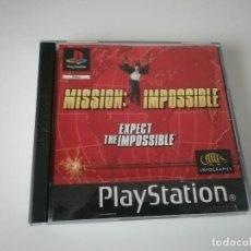 Videojuegos y Consolas: VIDEOJUEGO MISIÓN IMPOSIBLE - PLAYSTATION PS1 PSX PSONE - INCLUYE MANUAL Y CAJA. Lote 220687470