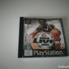Videojuegos y Consolas: VIDEOJUEGO NBA LIVE 2002 CON MANUAL Y CAJA INCLUIDOS - PLAYSTATION PS1 PSX PSONE. Lote 220688942