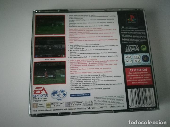 Videojuegos y Consolas: Videojuego FIFA 97 con manual y caja incluidos - Playstation PS1 PSX PSOne - Foto 2 - 220690882