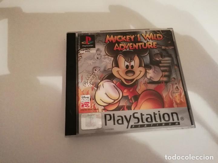 MICKEY'S WILD ADVENTURE CON MANUAL Y CAJA INCLUIDOS - PLAYSTATION PS1 PSX PSONE (Juguetes - Videojuegos y Consolas - Sony - PS1)
