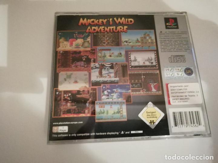 Videojuegos y Consolas: Mickeys Wild Adventure con manual y caja incluidos - Playstation PS1 PSX PSOne - Foto 2 - 220691248