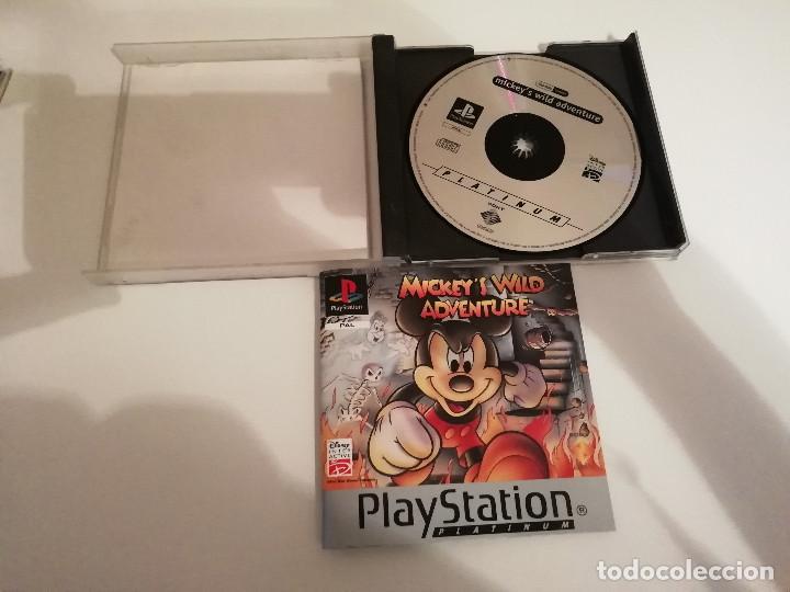 Videojuegos y Consolas: Mickeys Wild Adventure con manual y caja incluidos - Playstation PS1 PSX PSOne - Foto 3 - 220691248