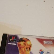 Videojuegos y Consolas: G-44 PS1 PLAYSTATION 1 COPA DEL MUNDO : FRANCIA 98 SIN CD SOLO CARATULA Y MANUAL. Lote 220700293
