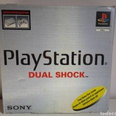 Videojogos e Consolas: CONSOLA SOBREMESA PS1 CON CAJA + MEMORY CARD. Lote 221473393