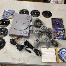 Jeux Vidéo et Consoles: LOTE DE PLAYSTATION 1 COMPLETA CON 8 JUEGOS ORIGINALES. VER LAS FOTOS. Lote 221540282