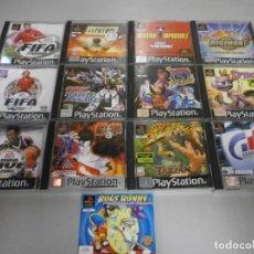 Videogiochi e Consoli: LOTE DE JUEGOS PS1 PLAYSTATION 1 VER FOTOS. Lote 221683456