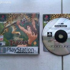 Videojuegos y Consolas: TARZAN PLATINUM DISNEY PSX PS1 PSONE PLAYSTATION 1 PLAY STATION ONE KREATEN. Lote 221749180