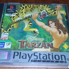 Videojuegos y Consolas: PS1 TARZAN COMPLETO PAL ESP PLATINUM. Lote 221759526