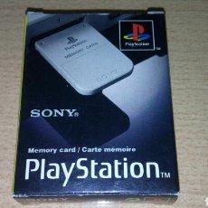 Jeux Vidéo et Consoles: PS1 MEMORY CARD CON CAJA ORIGINAL PLAY STATION. Lote 221901028