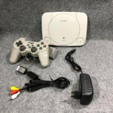 Videojuegos y Consolas: CONSOLA SONY PSONE+CHIP+MANDO+AV+AC PLAYSTATION PS1. Lote 222252255