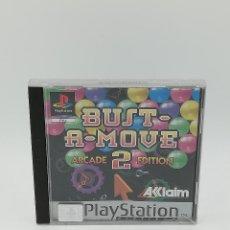 Videojuegos y Consolas: BUST-A-MOVE 2 ARCADE EDITION PLATINUM PS1. Lote 222253200