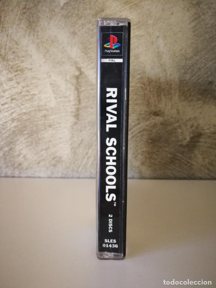 Videojuegos y Consolas: RIVAL SCHOOLS PS1 SIN MANUAL - Foto 2 - 222840828