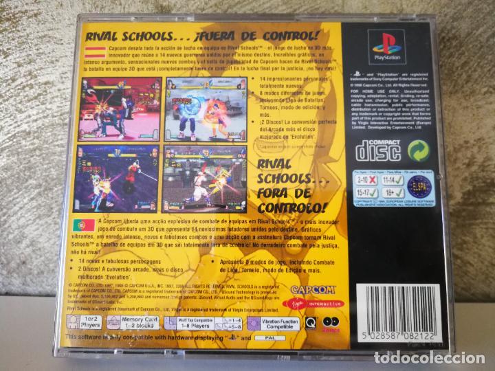Videojuegos y Consolas: RIVAL SCHOOLS PS1 SIN MANUAL - Foto 3 - 222840828