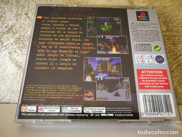 Videojuegos y Consolas: LA JUNGLA DE CRISTAL LA TRILOGÍA PS1 COMPLETO - Foto 5 - 222841500