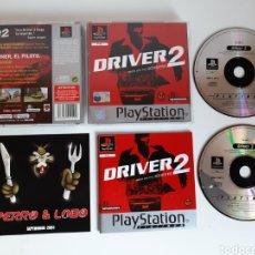 Videojuegos y Consolas: DRIVER 2 PS1. Lote 243922745
