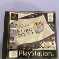Videojuegos y Consolas: JUEGO PLAYSTATION 1. UEFA EURO 2000. PROVIENE DE ALQUILER. Lote 223949633