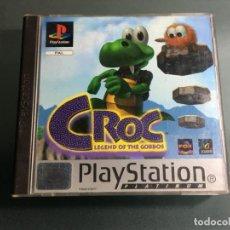 Videojuegos y Consolas: JUEGO PS1 CROC LEGEND OF THE GOBBOS. Lote 225552067