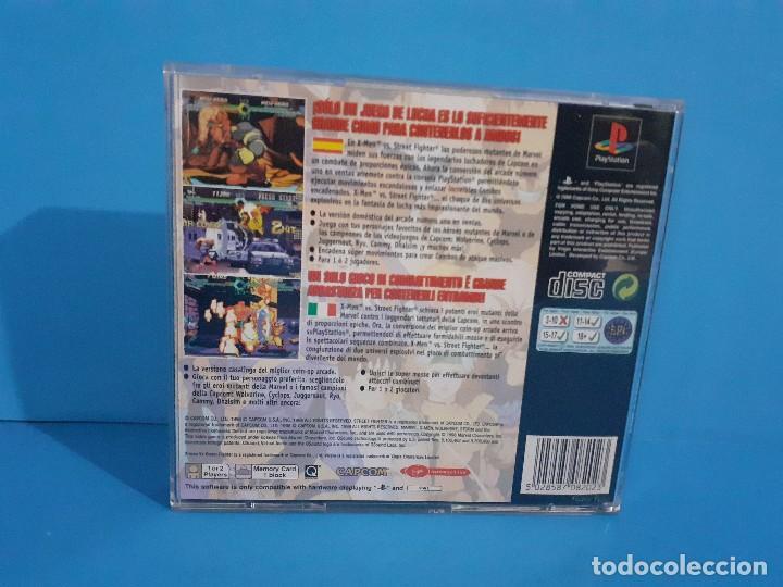 Videojuegos y Consolas: Juego PS 1 X-Men vs Street-Fighter. Completo. - Foto 3 - 226451105