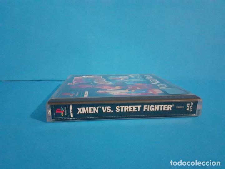 Videojuegos y Consolas: Juego PS 1 X-Men vs Street-Fighter. Completo. - Foto 5 - 226451105