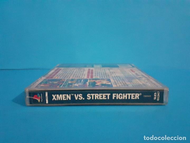 Videojuegos y Consolas: Juego PS 1 X-Men vs Street-Fighter. Completo. - Foto 7 - 226451105