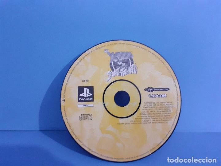 Videojuegos y Consolas: Juego PS 1 X-Men vs Street-Fighter. Completo. - Foto 8 - 226451105