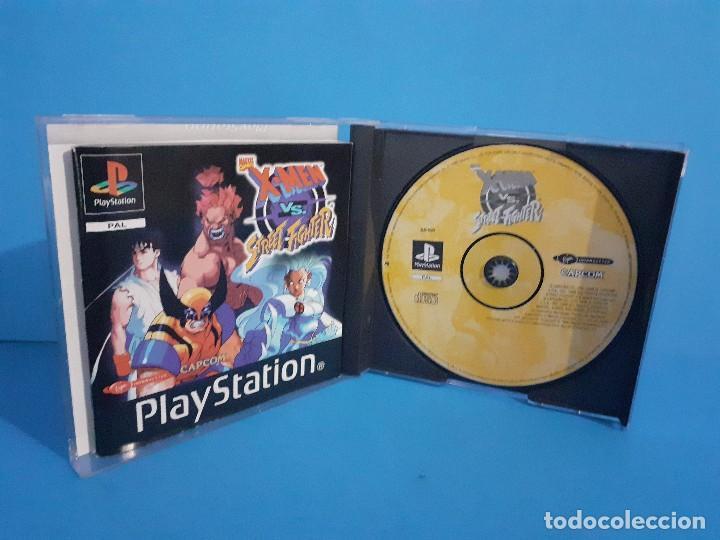 Videojuegos y Consolas: Juego PS 1 X-Men vs Street-Fighter. Completo. - Foto 11 - 226451105