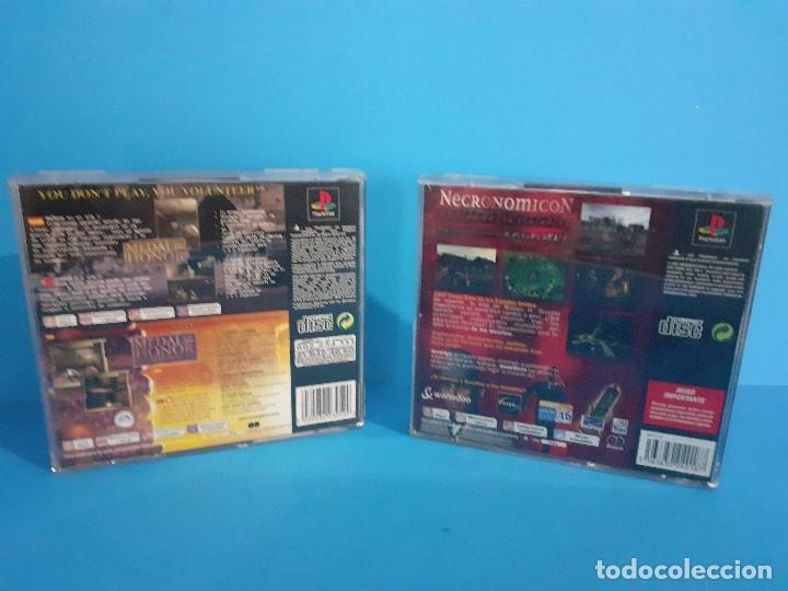 Videojuegos y Consolas: Lote de 2 juegos PS 1 Medal of Honor 1 y 2 y Necronomicon. - Foto 2 - 226499881