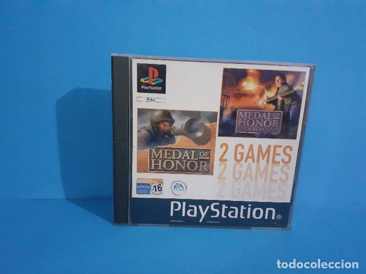 Videojuegos y Consolas: Lote de 2 juegos PS 1 Medal of Honor 1 y 2 y Necronomicon. - Foto 3 - 226499881