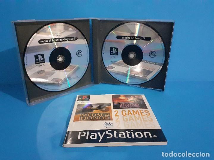 Videojuegos y Consolas: Lote de 2 juegos PS 1 Medal of Honor 1 y 2 y Necronomicon. - Foto 4 - 226499881