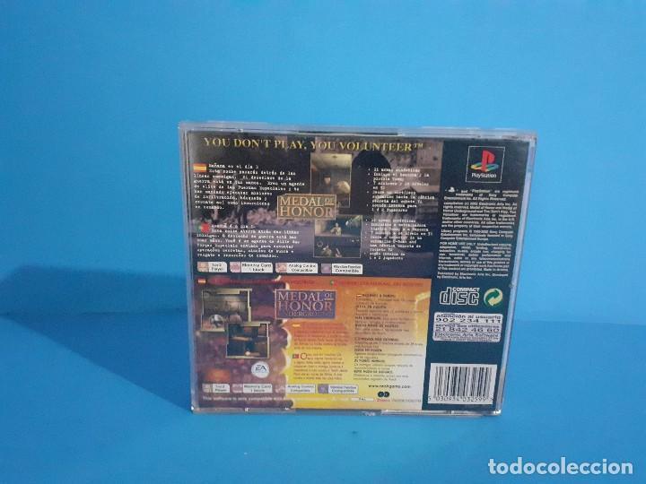 Videojuegos y Consolas: Lote de 2 juegos PS 1 Medal of Honor 1 y 2 y Necronomicon. - Foto 6 - 226499881