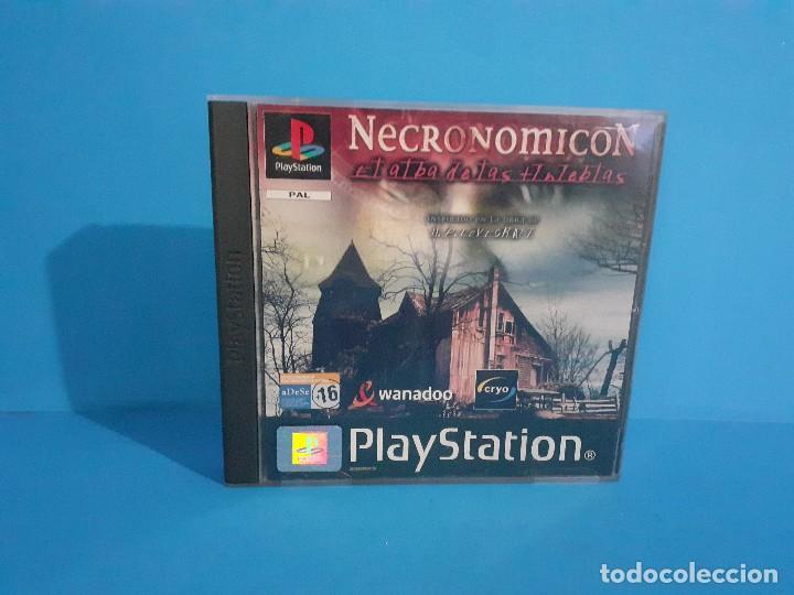 Videojuegos y Consolas: Lote de 2 juegos PS 1 Medal of Honor 1 y 2 y Necronomicon. - Foto 11 - 226499881