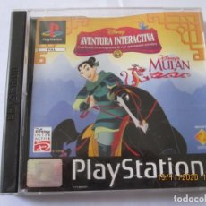 Videojuegos y Consolas: MULAN DISNEY INTERACTIVE PS1 PLAY STATION 1. Lote 227780165