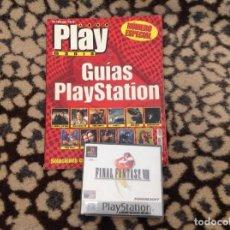 Videojuegos y Consolas: FINAL FANTASY VIII MAS GUIA COMPLETA PLAY MANIA.. Lote 230841710