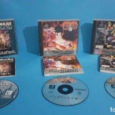 Videojuegos y Consolas: LOTE DE 3 VIDEOJUEGOS PS1 COMPLETOS.. Lote 234867605