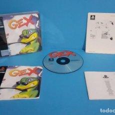 Videojuegos y Consolas: JUEGO PS1 GEX COMPLETO , ÚNICO EN TODOCOLECCION. Lote 235338405