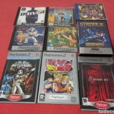 Videojuegos y Consolas: LOTE DE VIDEOJUEGOS VARIADOS *PS2 PS1 DREAMCAST MASTER SYSTEM*. Lote 235786345