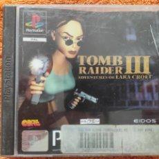 Videojuegos y Consolas: JUEGO PLAYSTATION 1 TOMB RAIDER III LARA CROFT. Lote 236079995