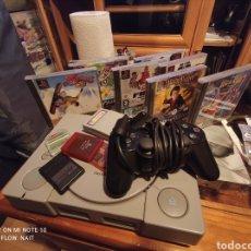 Videojuegos y Consolas: LOTE PS1 + 8 JUEGOS + MANDO. Lote 236276640