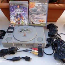 Videojuegos y Consolas: CONSOLA PLAYSTATION SONY CON ACCESORIOS VER FOTOS ADICIONALES. Lote 236484460